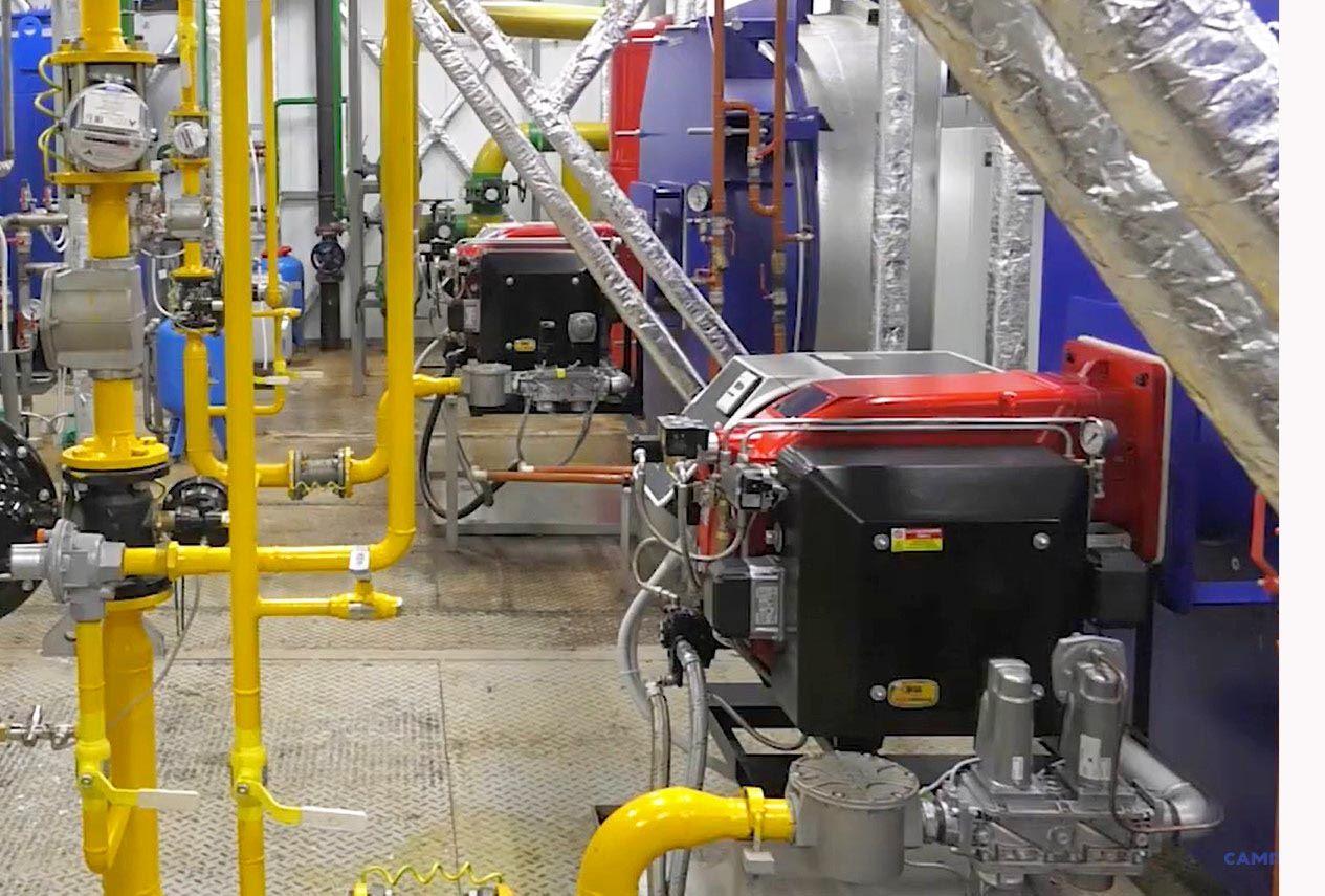 Газовая котельная 9 МВт в пос. Марциальные воды Республики Карелия